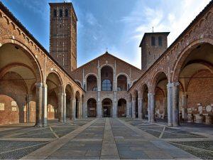 Базилика Сант Амброджо в Милане