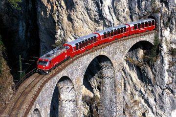поезд бернина экспресс